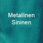 Metallinen sininen