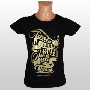 Metallic Gold T-paita