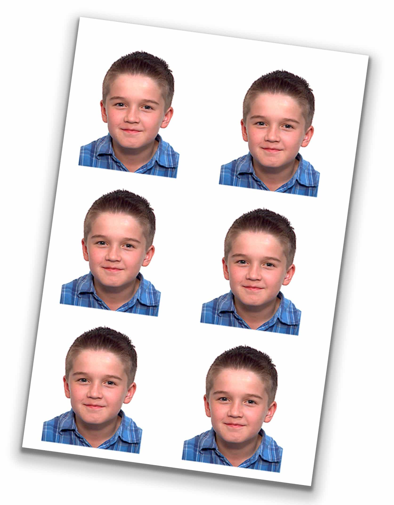 Instant passport pictures