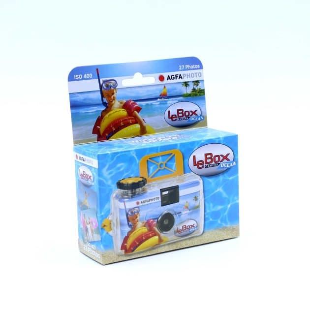 Agfa LeBox Ocean Kertakäyttökamera