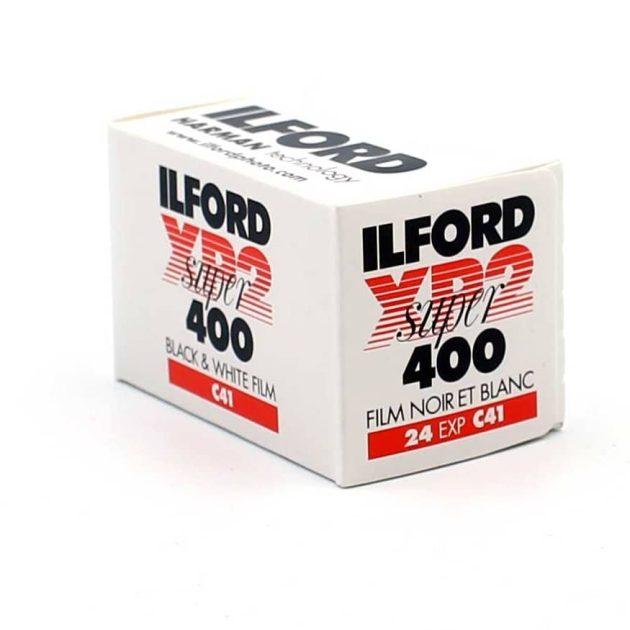 Ilford XP2 mustavalkofilmi