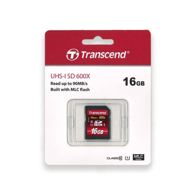 Transcend 16GB SDHC 600x Ultimate memory card