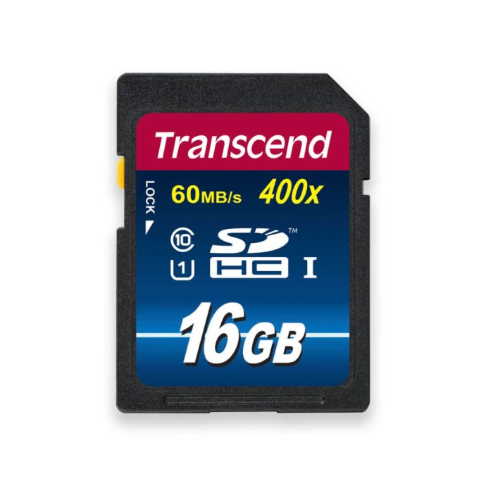 Transcend 16GB SDHC memory card