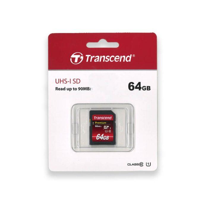 Transcend 64GB SDXC memory card