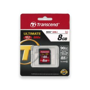 Transcend 8GB SDHC 600x Ultimate Muistikortti