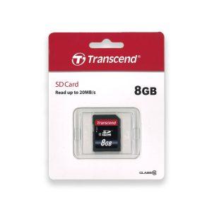Transcend 8GB SDHC memory card
