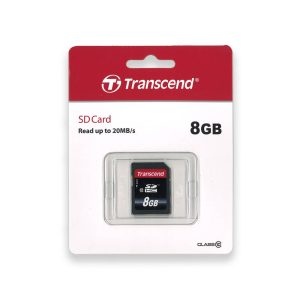 Transcend 8GB SDHC Muistikortti
