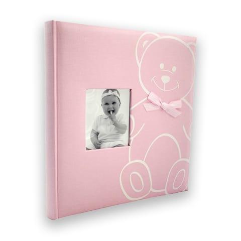 New baby bear vaaleanpunainen vauva-albumi
