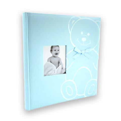 New baby bear sininen vauva-albumi