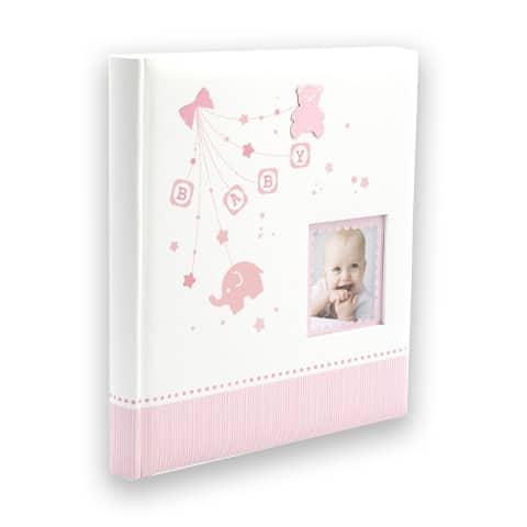 Baby's stars vaaleanpunainen vauva-albumi